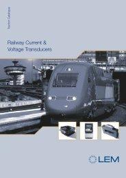 Railway Current & Voltage Transducers