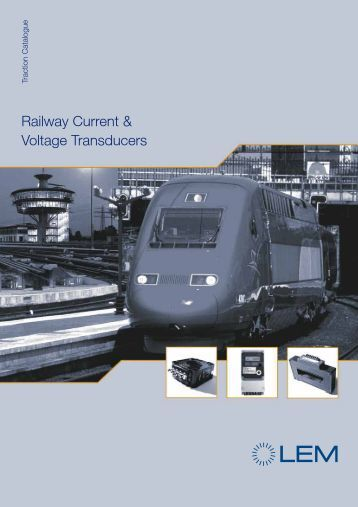 Railway Current & Voltage Transducers