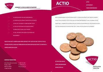 Schuldhulp brochure - Actio Advocaat