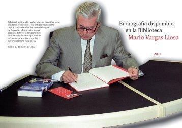 Mario Vargas Llosa - Instituto Cervantes Berlin