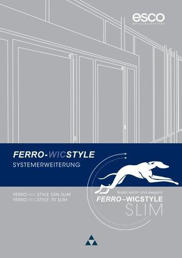 FERRO-WICSTYLE - esco | Metallbausysteme - esco ...