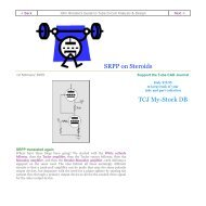 Aikido Amplifier Revisited TCJ My-Stock DB - Tube CAD Journal