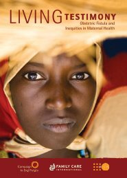 Obstetric Fistula and Inequities in Maternal Health - UNFPA