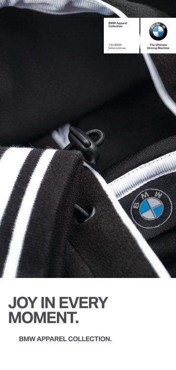 JOY in everY mOment. - BMW