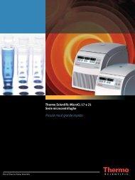Thermo Scientific MicroCL 17 e 21 Serie microcentrifughe Piccole ...