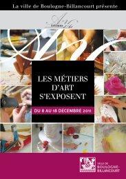 Les métiers d'Art s'exposent - Boulogne - Billancourt