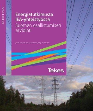 Suomen osallistumisen arviointi - Tekes