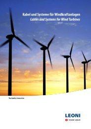 Kabel und Systeme für Windkraftanlagen - LEONI Business Unit ...