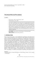Tricritical Directed Percolation - Universität Duisburg-Essen