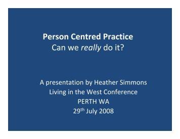 Heather Simmons - Ideaswa.net