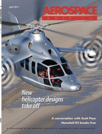 New helicopter designs take off - Aerospace America