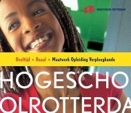 Maatwerk Opleiding Verpleegkunde - Hogeschool Rotterdam