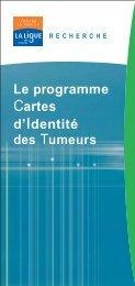 Le programme Cartes d'Identité des Tumeurs - Ligue-cancer83.net