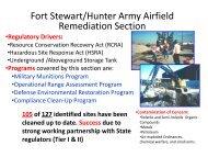 Ft Stewart HAAF Briefing - Smith | Associates