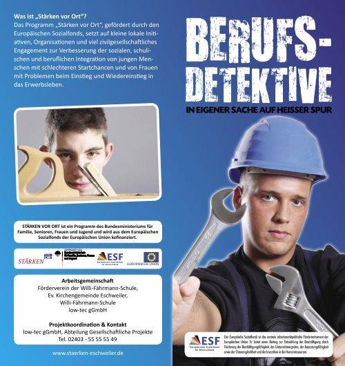 Flyer Berufdetektive.indd - Integration Eschweiler
