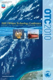 2010 Offshore Technology Conference - OTCnet.org