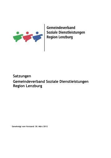 Satzungen Gemeindeverband Soziale Dienstleistungen Region ...