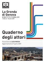 Quaderno inviato da Luca Massa - Urban Center - Comune di Genova