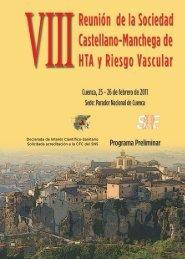 Programa VIII Reunion SCMHTARV Cuenca 2011.pdf - Portal de la ...