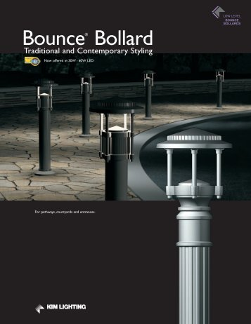 Bounce® Bollard - Kim Lighting