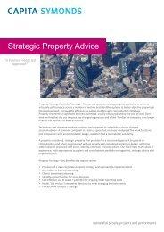 Strategic Property Advice - Capita Symonds