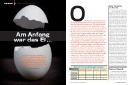 Am Anfang war das Ei … - Sportmedizin Hamburg