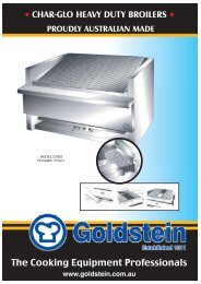 Char-glo Heavy Duty Broilers - Arafura Catering Equipment