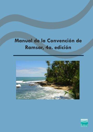 Manual de la Convención de Ramsar, 4a. edición - Sitios Ramsar ...
