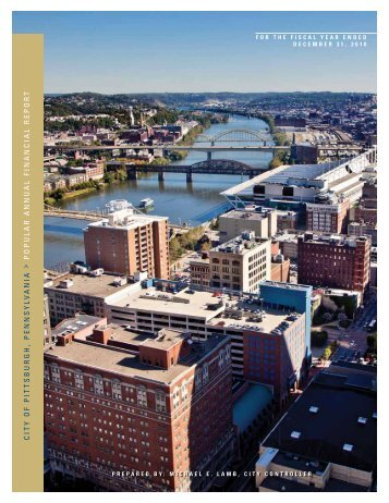 Popular Annual Financial Report - City of Pittsburgh