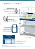 Vertical Laminar Flow Clean Benches - Fisher Biotec - Page 2