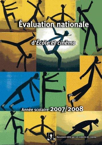 Télécharger le dossier complet d'évaluation 2007/2008 au format pdf