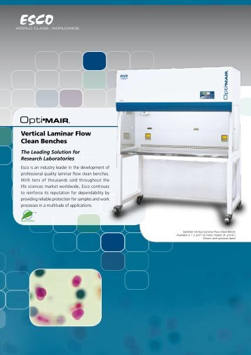 Vertical Laminar Flow Clean Benches
