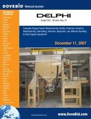 December 11, 2007 - Dovebid