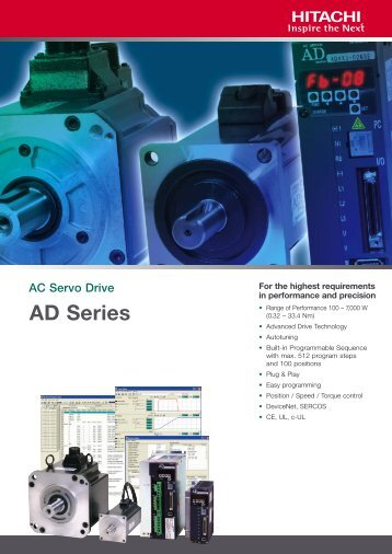 AD Series - Esco Drives & Automation