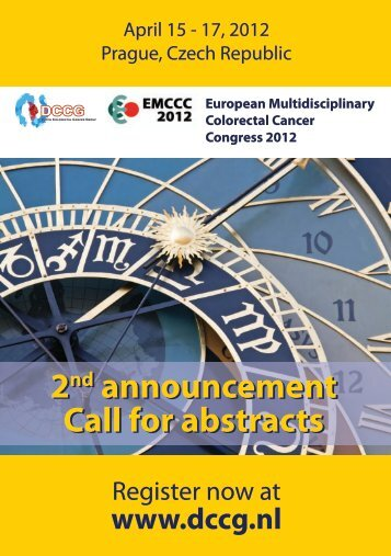2nd announcement Call for abstracts 2nd announcement Call for ...