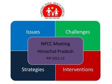Himachal Pradesh - National Rural Health Mission Program ...