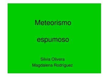 Meteorismo espumoso - Departamento de Producción Animal y ...