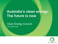 Australia's Clean Energy – The Future is Now - SM Solar