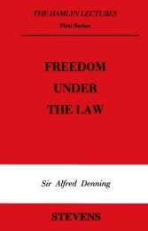FREEDOM UNDER THE LAW - College of Social Sciences and ...