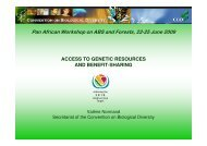 Pan African Workshop on ABS and Forests, 22-25 June 2009