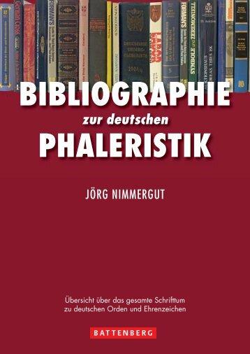 Bibliographie der Phaleristik