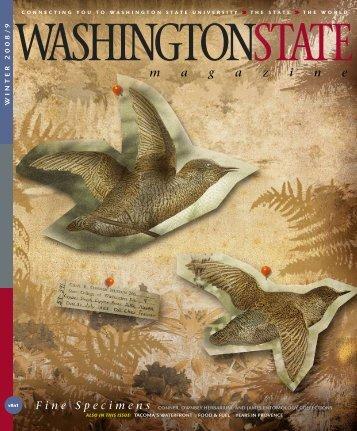Fine Specimens - Washington State Magazine