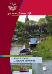 brochure waterbeleid engels - Canal-Link