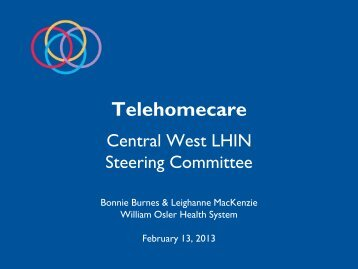 Telehomecare Project Presentation by Host