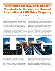 Strategies for U.S. LNG Import Terminals to Survive the Current ...