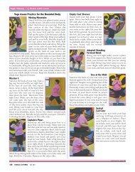 Yoga Asana Practice For The Rounded Body - Yoga Living Magazine