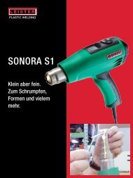 sonora s1 - Leister