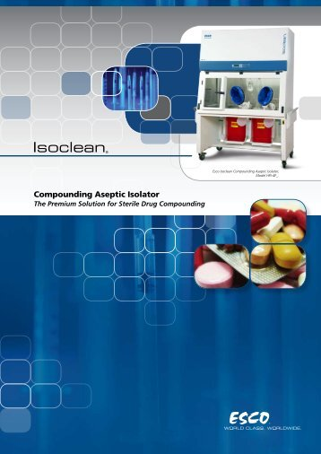 Compounding Aseptic Isolator - Laboline
