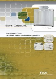 Soft Wall Cleanroom The Flexible Solution for Cleanroom Applications