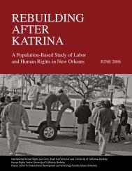 Rebuilding AfteR KAtRinA - Berkeley Law - University of California ...